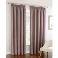 Oxford Stripe Fully Lined Curtain 66 x 72