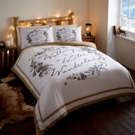 Winter Wonderland Brushed Cotton Duvet Set Double