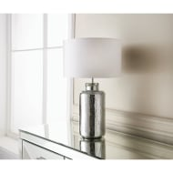 Paloma Mercury Table Lamp - White