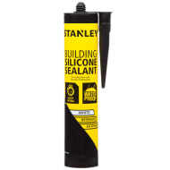 Stanley Anti Mould Building Silicone Sealant - White 300ml