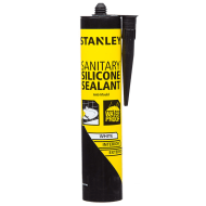 Stanley Sanitary Silicone Sealant - White 300ml