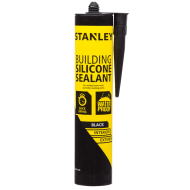 Stanley Anti Mould Building Silicone Sealant - Black 300ml