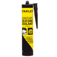 Stanley Sanitary Silicone Sealant - Clear 300ml