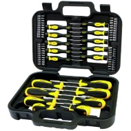 Rolson Screwdriver & Bit Set 58pc
