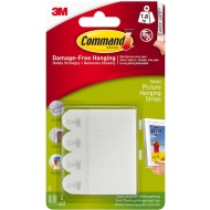 Command Picture Hanging Strip Small 4pk