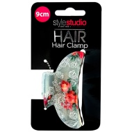 Style Studio Claw Hair Clamp - Lace Flowers