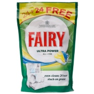 Fairy Ultra Power All in One Dishwasher Tablets 48pk