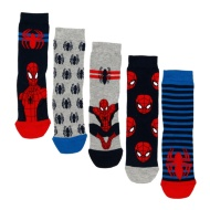 Kids Spider-Man Socks 5pk