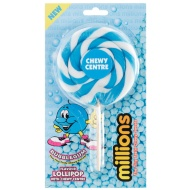 Millions Giant Chewy Lollipop - Bubblegum