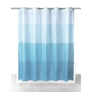 Beldray Hookless Shower Curtain - Blue