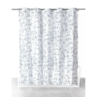 Beldray Hookless Shower Curtain - Bamboo Leaves