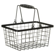Shopping Storage Basket - Black
