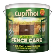 Cuprinol Less Mess Fence Care Rustic Brown 9L