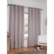 Dorchester Damask Fully Lined Curtains - 46 x 54