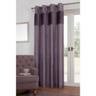 Portofino Pleated Velvet Top Border Fully Lined Panel 54 x 86