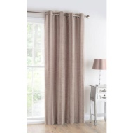 Rhodes Faux Silk Pleated Fully Lined Panel 54 x 86