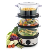 Salter 3 Tier Food Steamer
