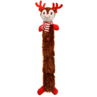 Festive Squeaky Dog Toy - Reindeer