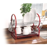 Addis Dish Drainer - Red
