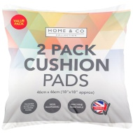 Home & Co Cushion Pads 2pk