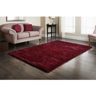 Furness Red Shaggy Rug 160 x 230cm