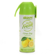 Airpure Press Fresh Air Freshener - Citrus Zing