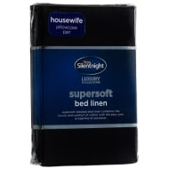 Silentnight Pillowcase Pair - Black