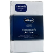 Silentnight Pillowcase Pair - White