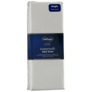 Silentnight Single Fitted Sheet - Cream