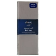 Silentnight Single Fitted Sheet - Mink