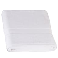 Signature Zero Twist Bath Sheet - White