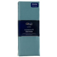 Silentnight Double Fitted Sheet - Teal
