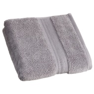 Signature Zero Twist Hand Towel - Grey