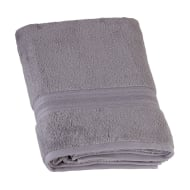 Signature Zero Twist Bath Towel - Grey