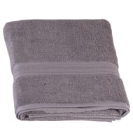 Signature Zero Twist Bath Sheet - Grey