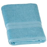 Signature Zero Twist Bath Towel - Aqua