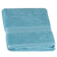 Signature Zero Twist Bath Sheet - Aqua