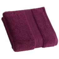Signature Zero Twist Hand Towel - Plum