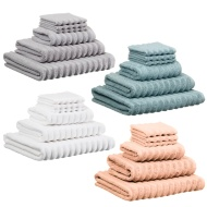 Retreat Zero Twist Ribbed Bath Sheet
