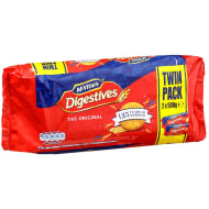 McVitie's Digestives Twin Pack 2 x 500g
