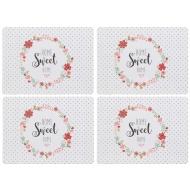 Table Placemats 4pk - Home Sweet Home
