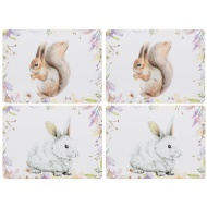 Table Placemats 4pk - Animals