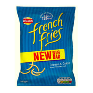 Walkers Cheese & Onion French Fries 160g