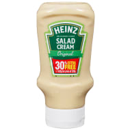 Heinz Salad Cream Original 320g + 30%