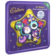 Cadbury Christmas Tree Chocolate Decorations 14pc