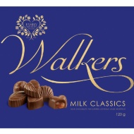 Walkers Milk Chocolate Classics Collection 120g