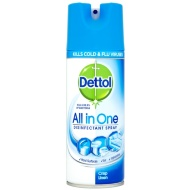 Dettol All in One Disinfectant Spray Crisp Linen 400ml