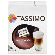 Tassimo Carte Noire Latte Machiato Coffee Pods 8pk