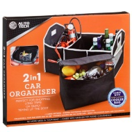 Auto Tech 2-in-1 Car Organiser