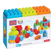 Mega Bloks First Builders Learning Train